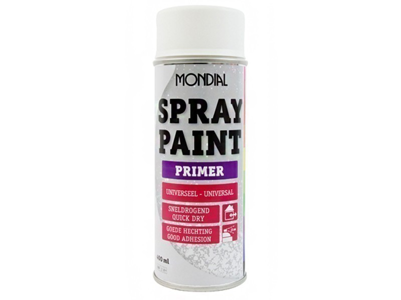 Mondial Spraypaint 400 ml. primer wit